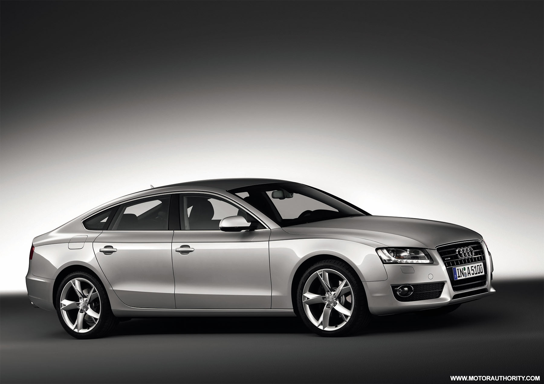 audi a5 sportback set for 2009 frankfurt auto show. Black Bedroom Furniture Sets. Home Design Ideas