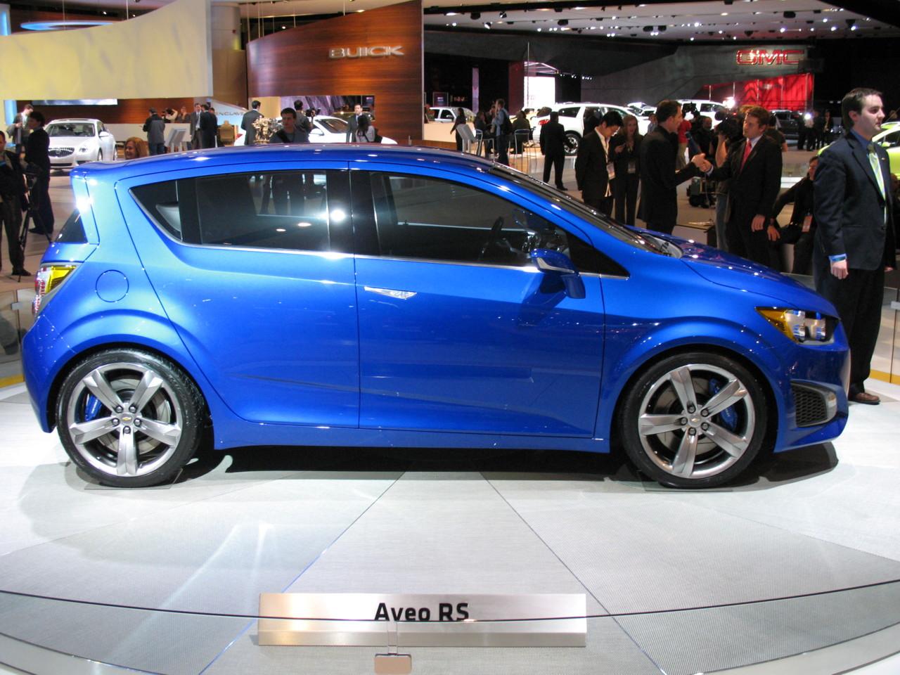 2010 Detroit Auto Show: 2011 Chevrolet Aveo RS Concept ...