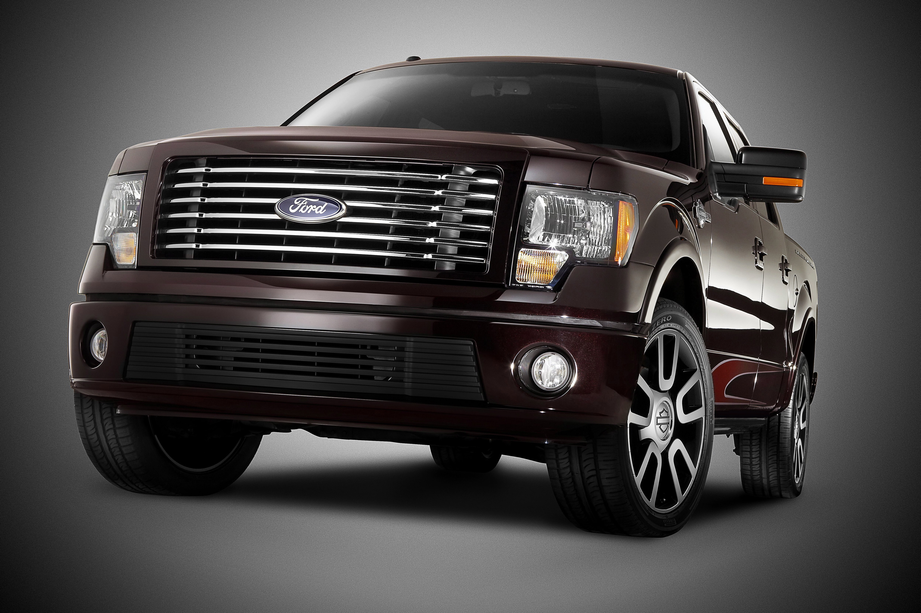 2010 ford f-150 harley: black is back (and red, too)