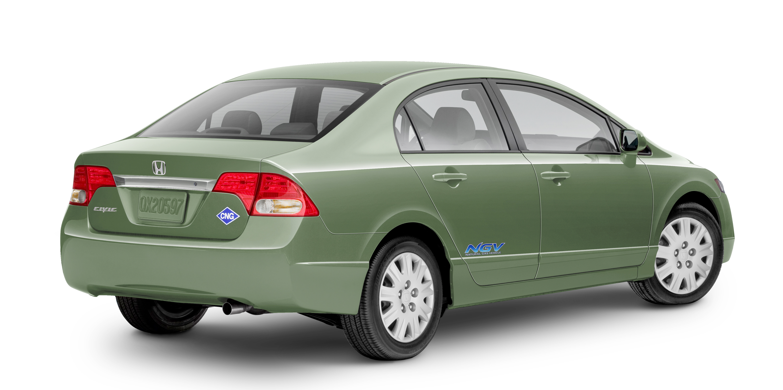Natural-Gas Honda Civic To Oklahoma As U.S. Lags In NGVs