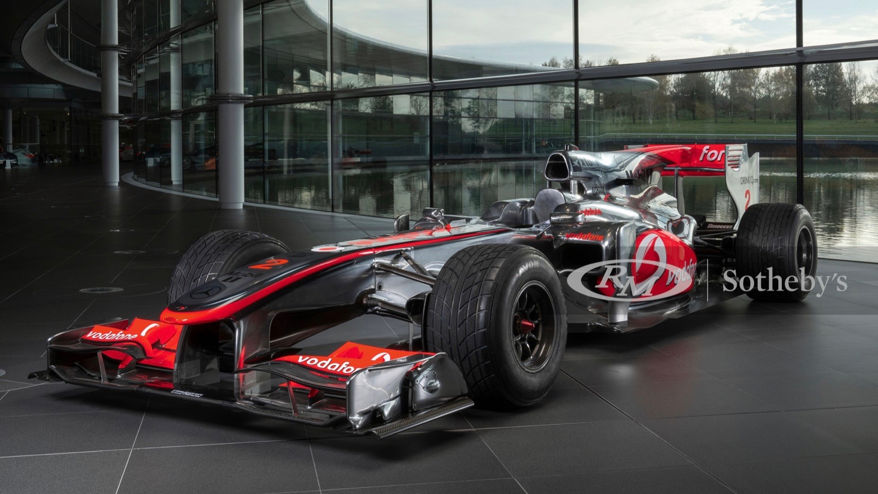 Lewis Hamilton's GP winning McLaren MP4-25A F1 car is for sale