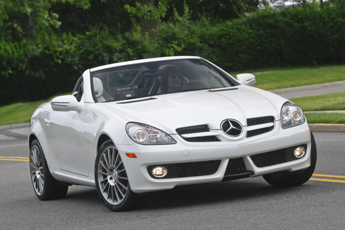 2010 mercedes benz slk class review ratings specs prices and photos the car connection. Black Bedroom Furniture Sets. Home Design Ideas