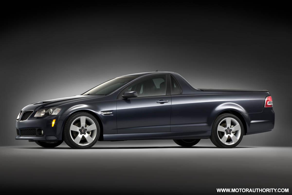 Pontiac G8 ST (Sport Truck) revealed