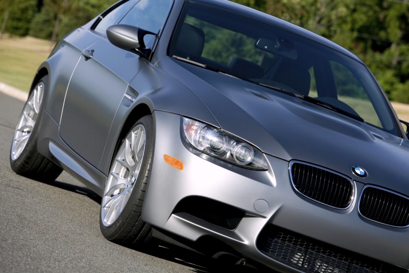 Don\'t Touch The (Matte) Paint: 2011 BMW M3 Frozen Gray Coupe\'s ...