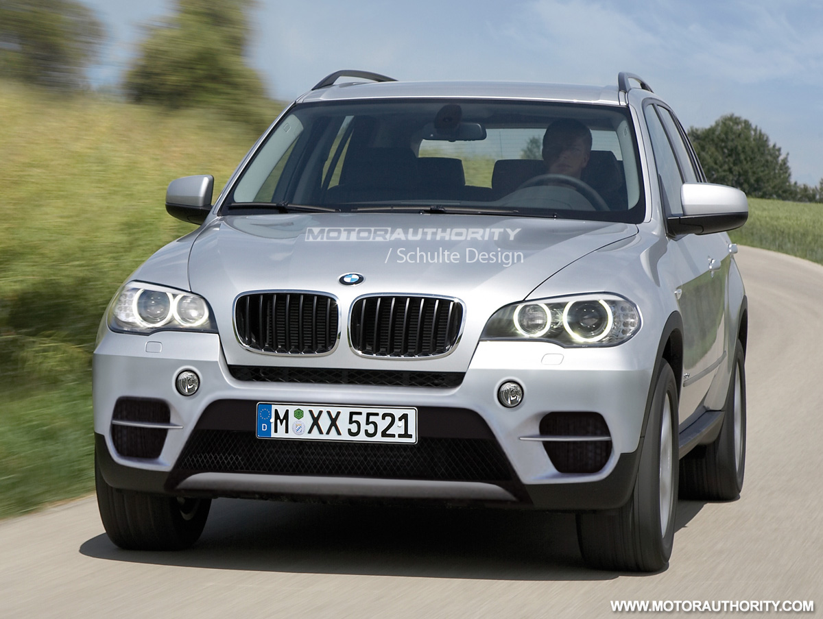 Rendered: 2011 BMW X5 Facelift