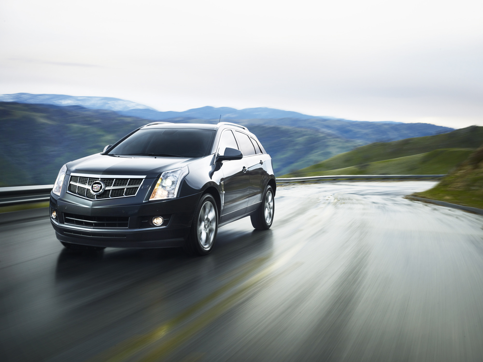 journal cadillac pictures srx instrumentation