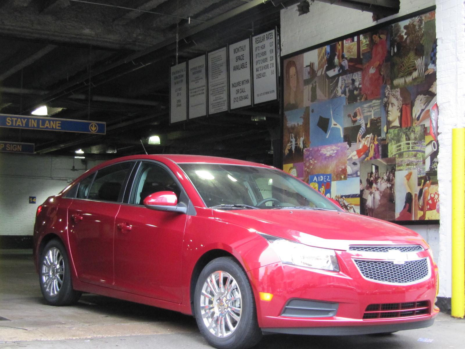 VIDEO: 2011 Chevrolet Cruze Eco, Our Real-World Gas Mileage
