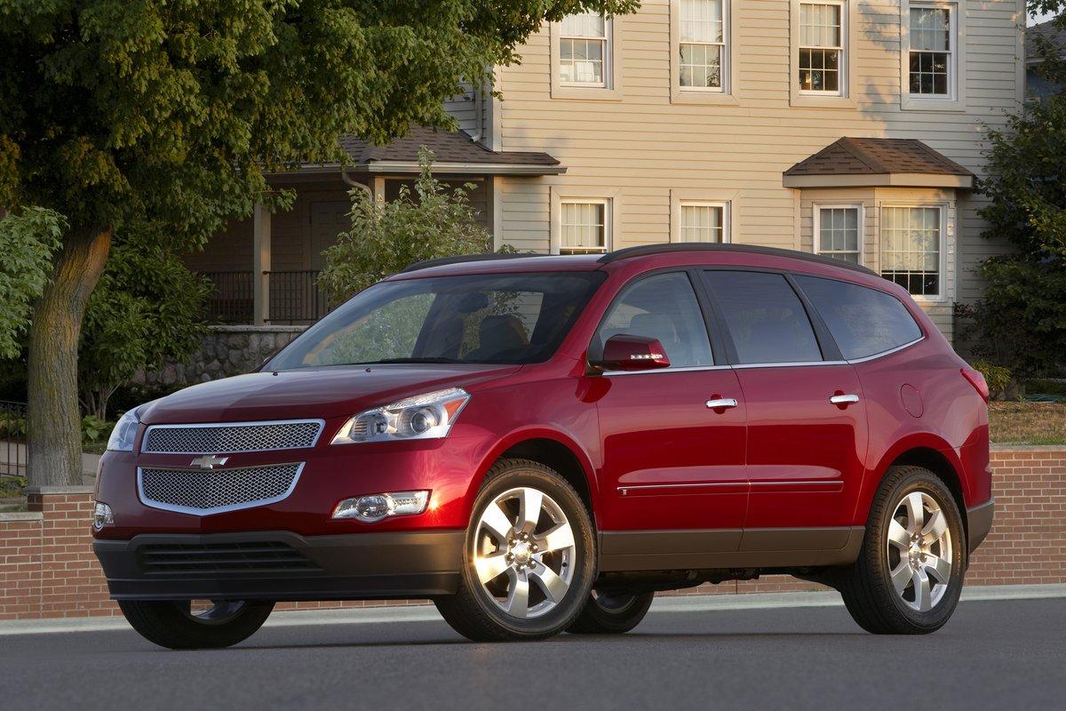 2011 Chevrolet Traverse, GMC Acadia, Buick Enclave Earn Top Safety ...