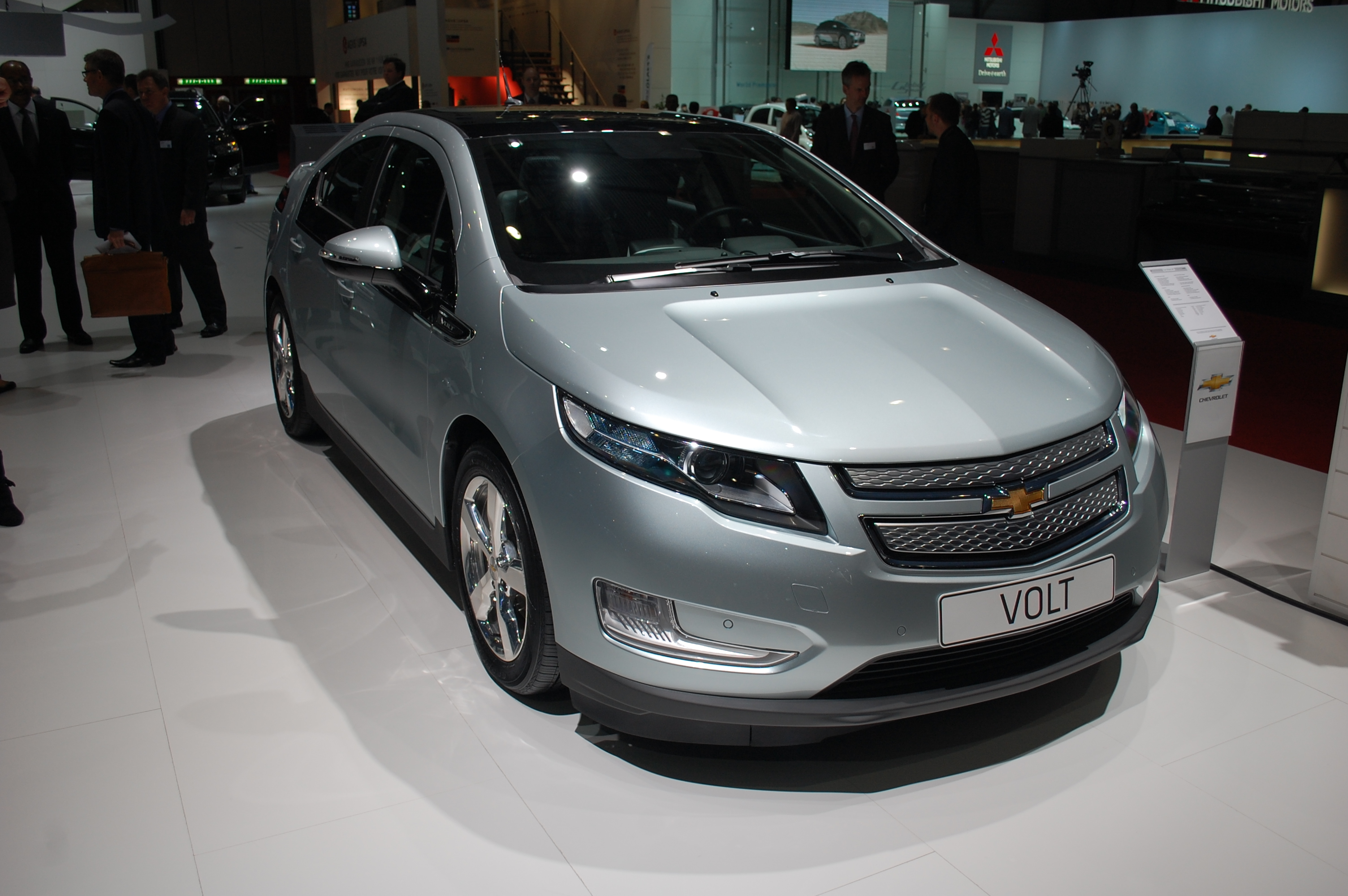 2012 Chevrolet Volt Subtle Changes Surface Keyless Entry Included