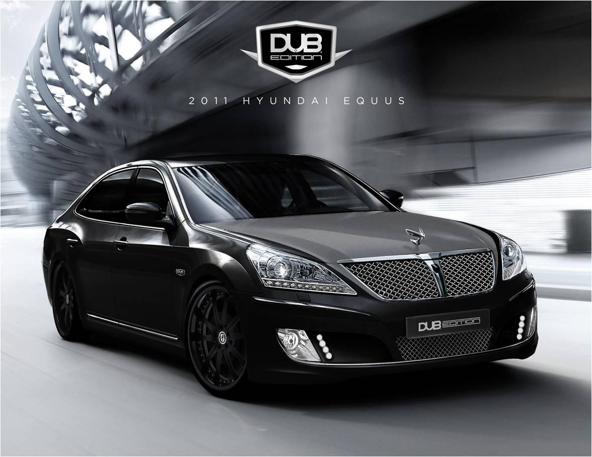 2010 Sema Preview Dub Edition 2011 Hyundai Equus