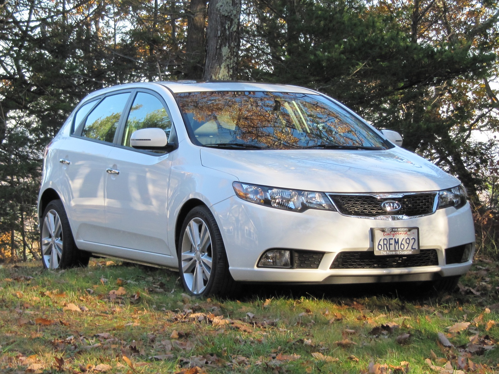 2011 Kia Forte SX Five-Door Hatchback: Weekend Drive