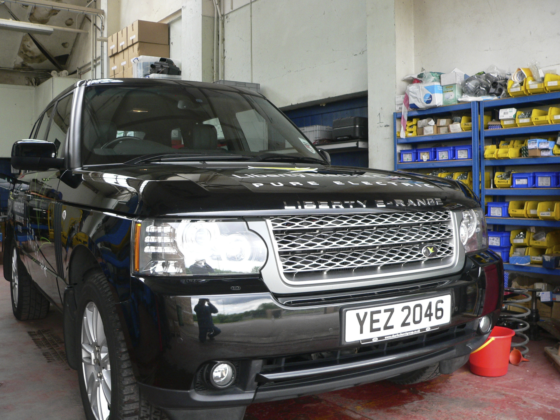 First Drive Report 2011 Liberty E Range Electric Range Rover