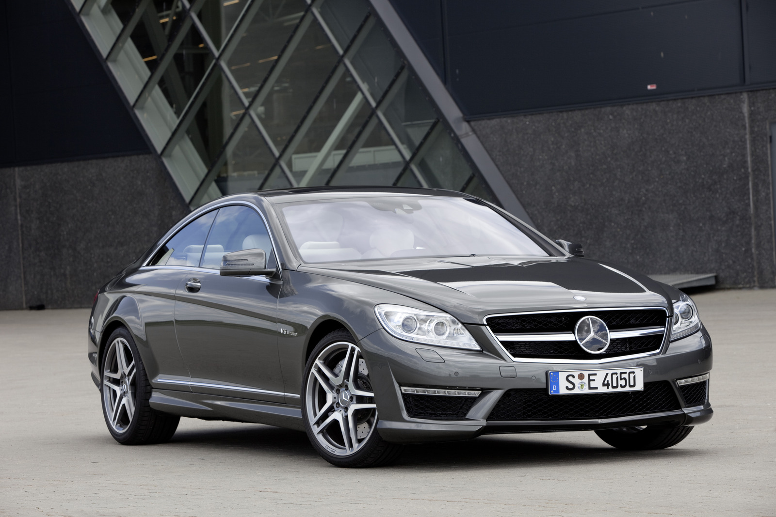 Mercedes-Benz Prices Twin-Turbo V-8 2011 CL550, 2011 CL63 ...