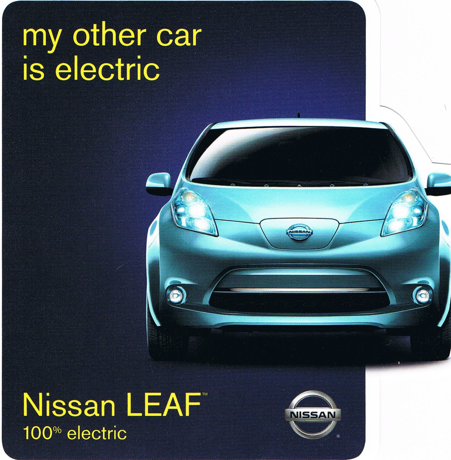2011 Nissan Leaf: While You Wait, Have Some Stickers