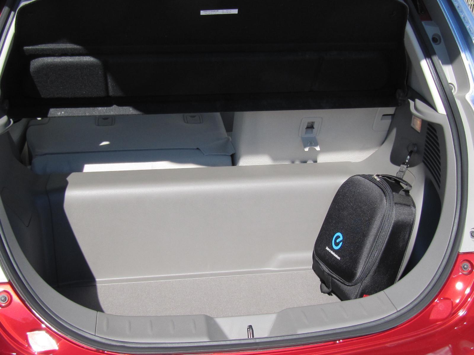 Best Electric-Car Cargo Space: 2012 Nissan Leaf, 2012 ...