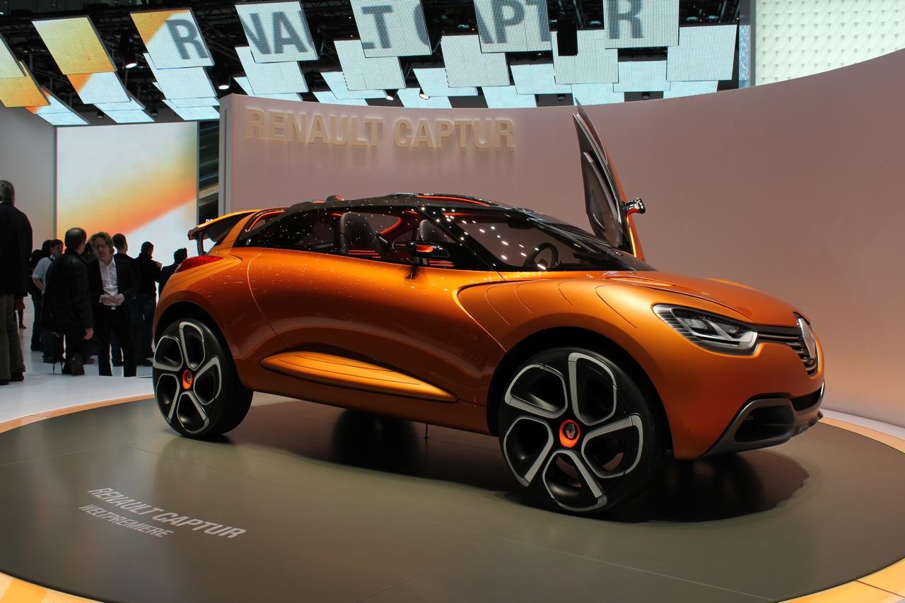 2011 Renault Captur Concept Live Photos: 2011 Geneva Motor ...