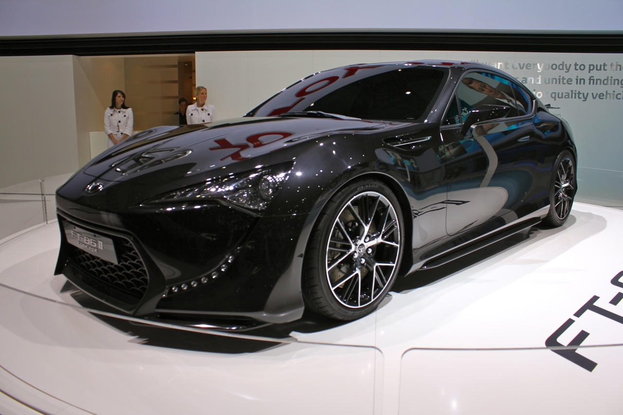 Toyota Ft 86 >> Toyota FT-86 II Concept Live Photos: 2011 Geneva Motor Show