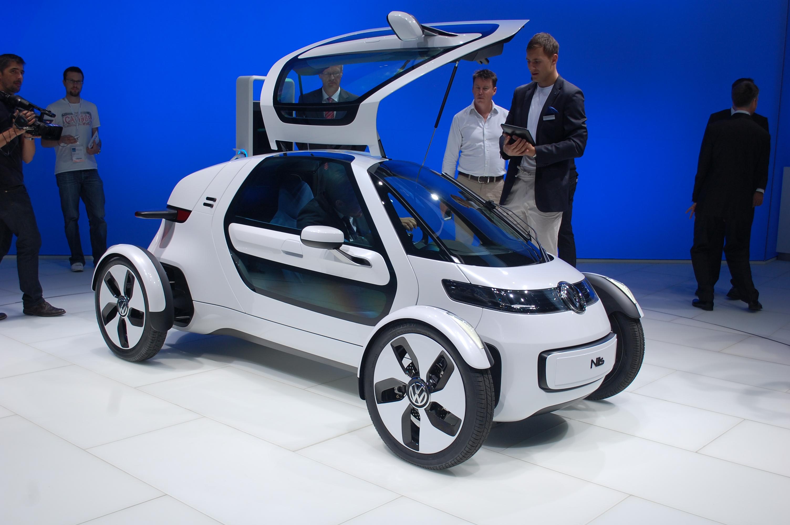 Volkswagen Nils Electric Car Concept Frankfurt Live Photos - Volkswagen car show