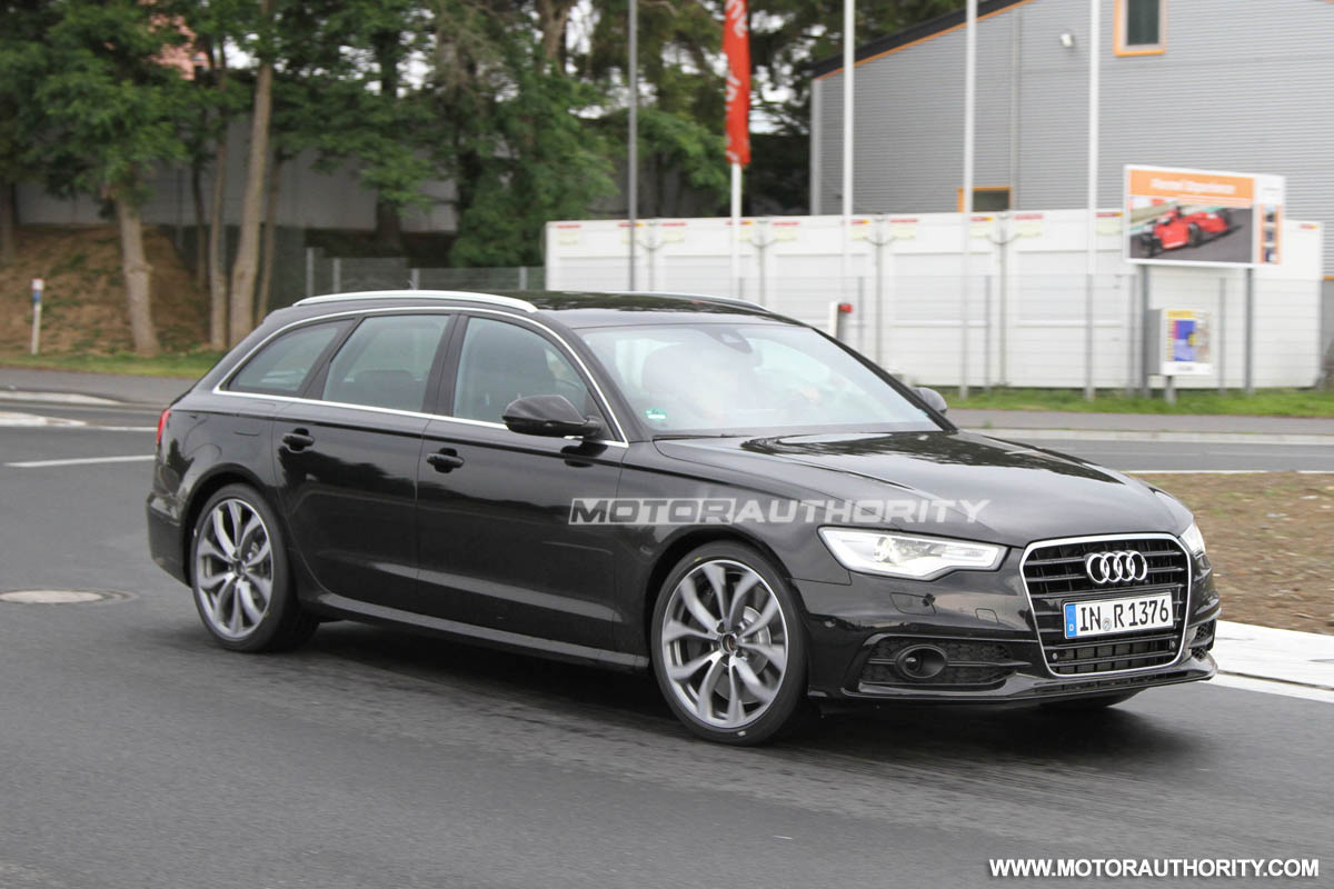 2012 audi s6 avant spy shots. Black Bedroom Furniture Sets. Home Design Ideas