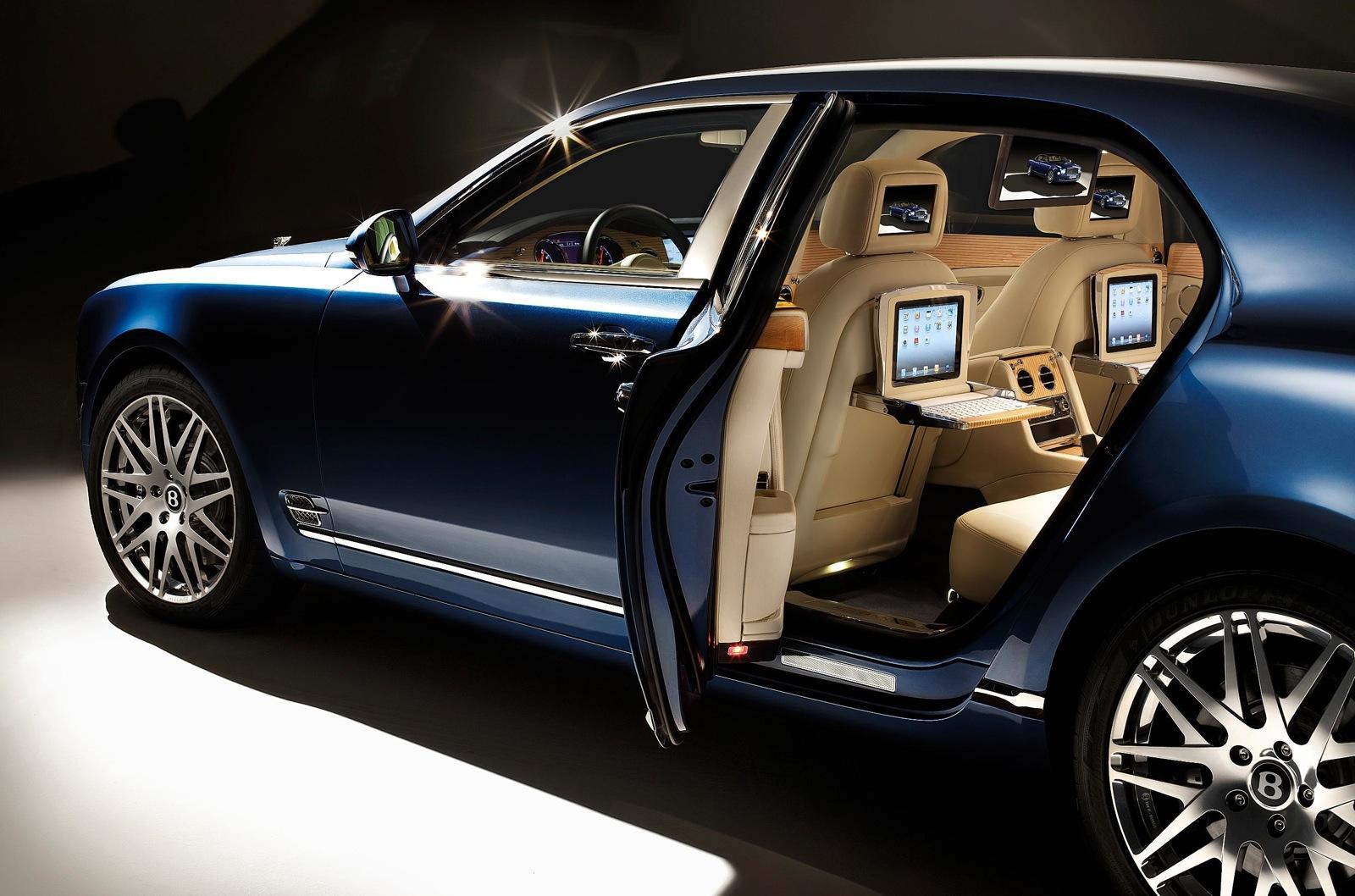 2012 Bentley Mulsanne Executive Interior Choices Announced