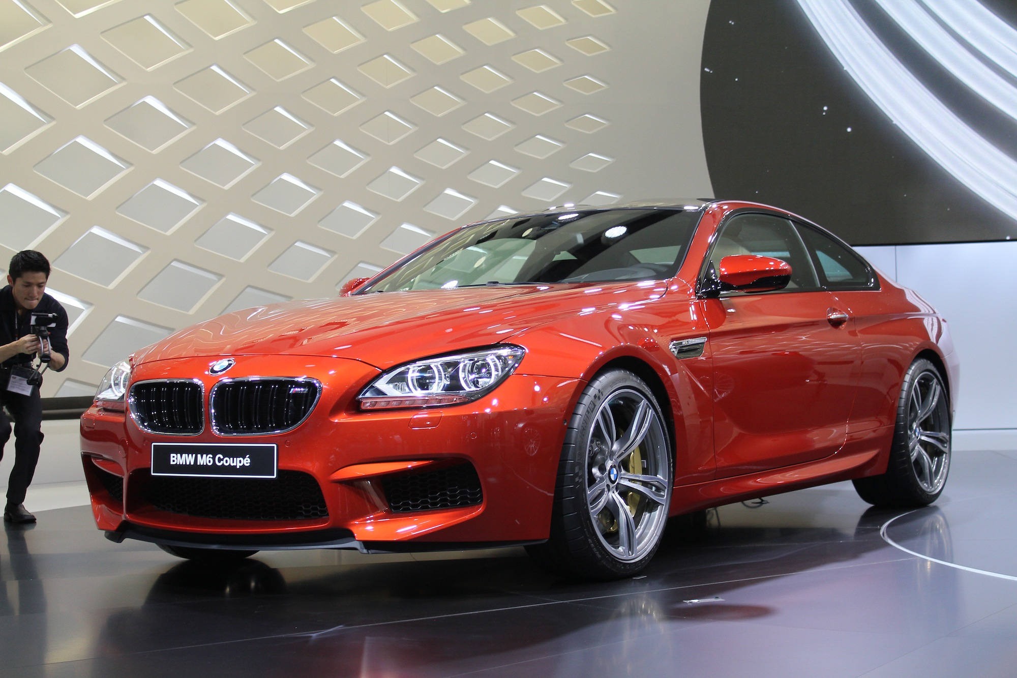 2012 BMW M6 Live Photos: 2012 Geneva Motor Show. >