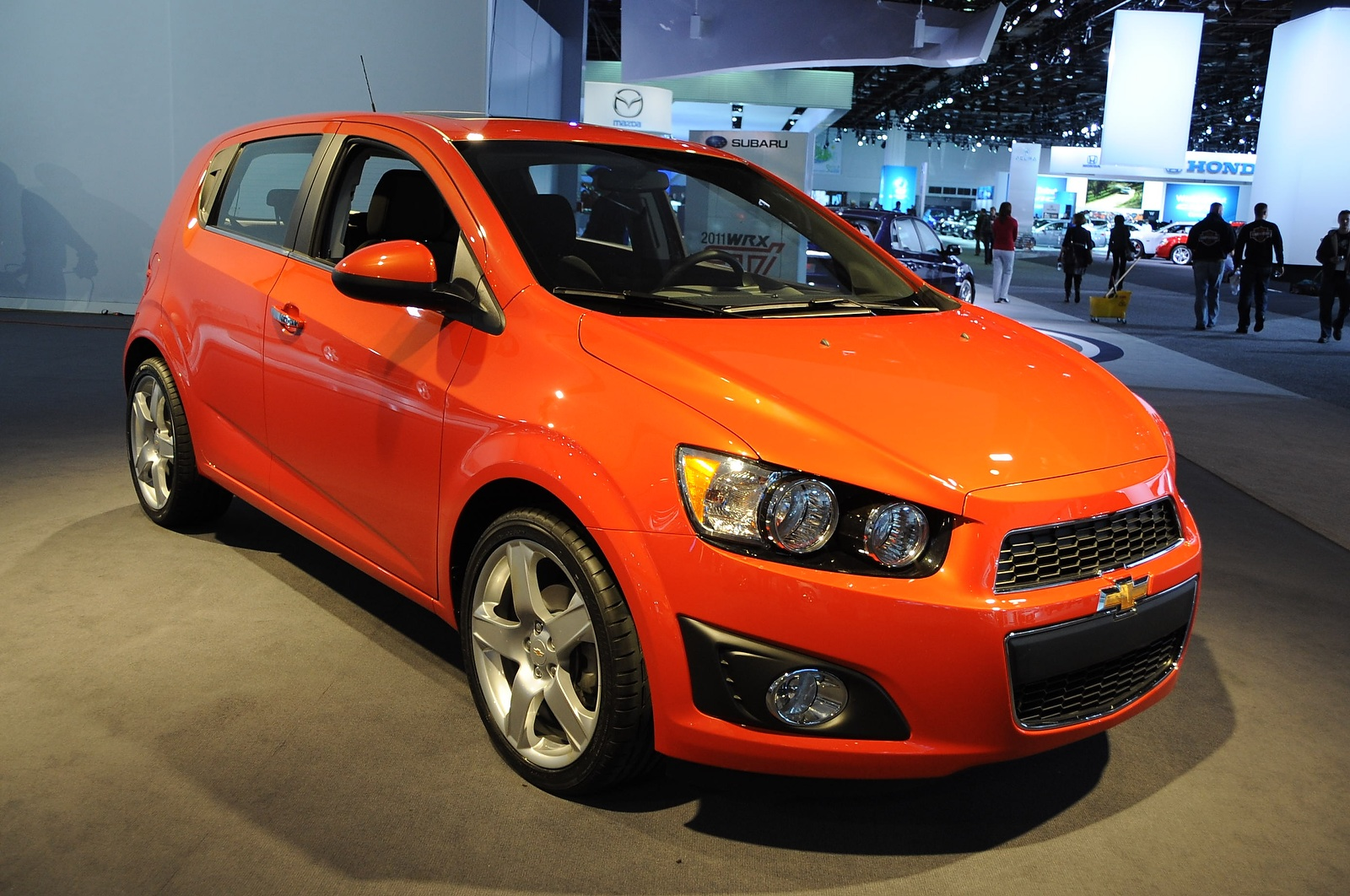 2012 Chevrolet Sonic Variety Adds Spice To New Subcompact