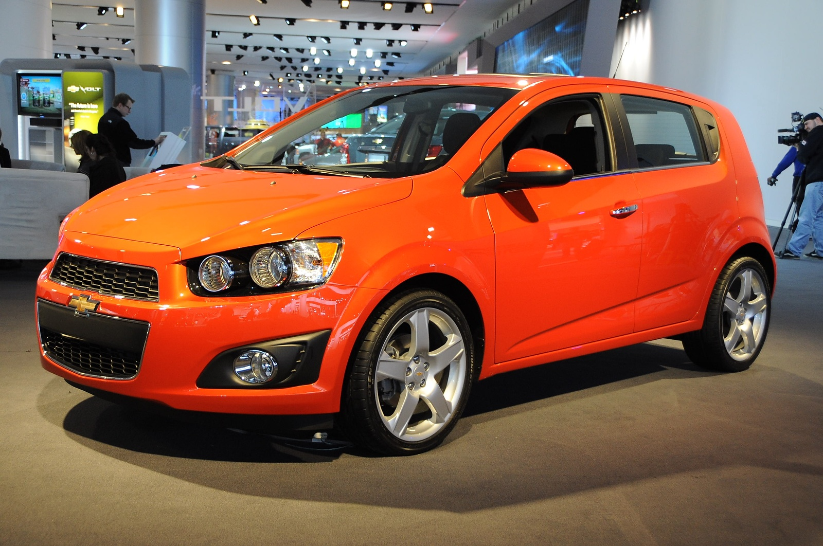 2012 chevrolet sonic being given away in 27 cities on scvngr. Black Bedroom Furniture Sets. Home Design Ideas