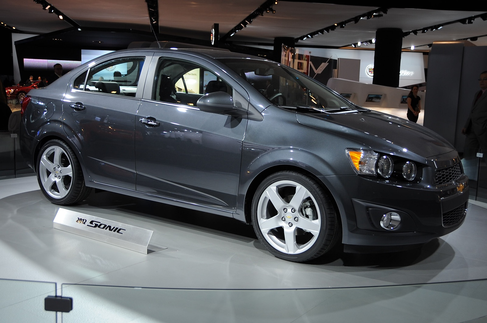 2012 chevrolet sonic earns top safety pick. Black Bedroom Furniture Sets. Home Design Ideas