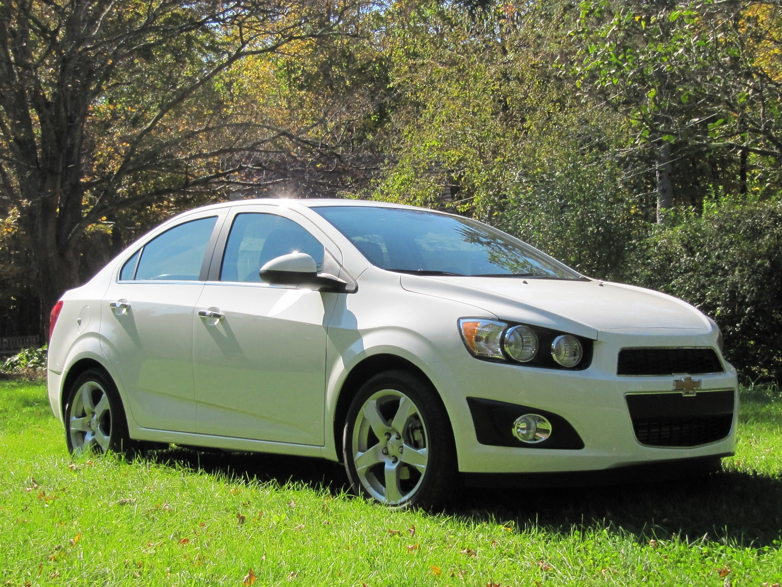 2012 Chevrolet Sonic LTZ Sedan: Weekend Test Drive