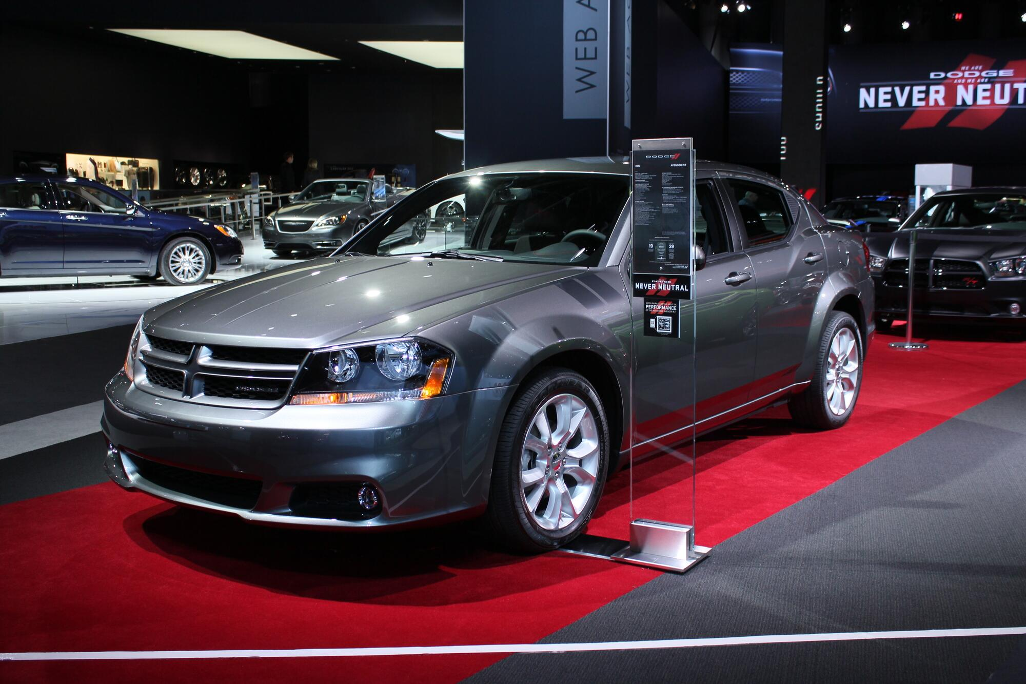 2016 Dodge Avenger >> Dodge Renames Trims For 2012 But They Re No Less Confusing