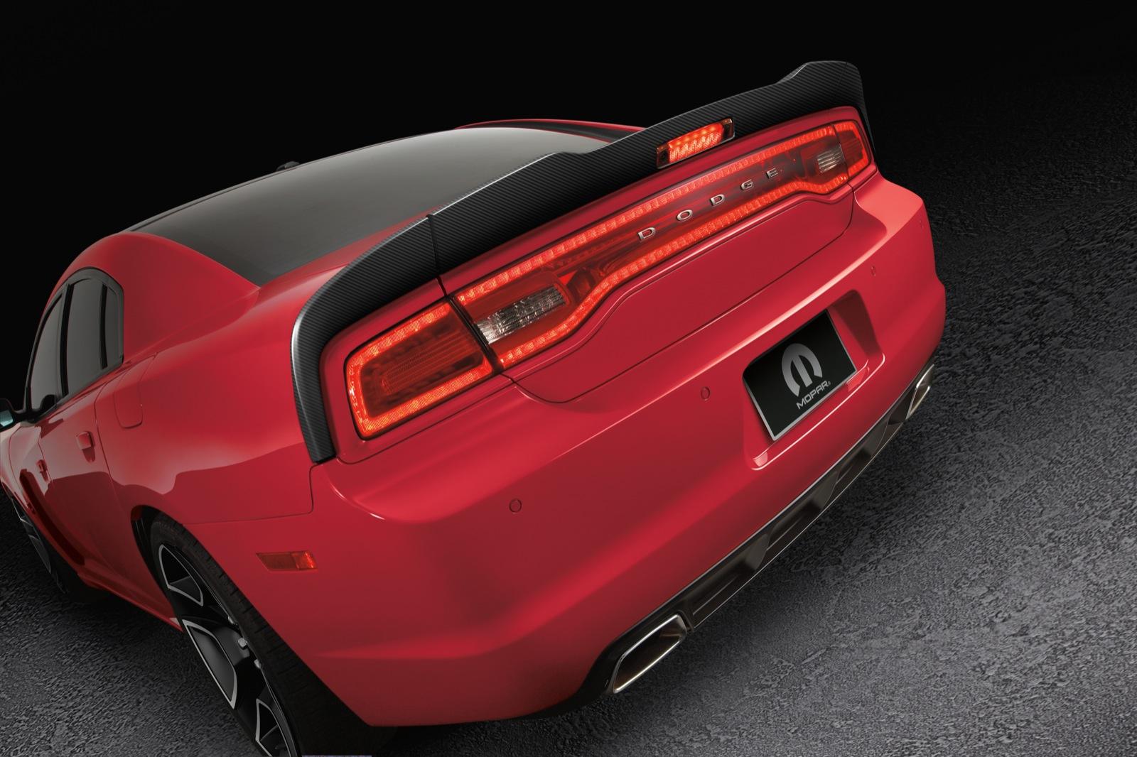 Dodge dodge charger with wing : 2012 Dodge Charger Redline: Mopar Performance Outpowers SRT?