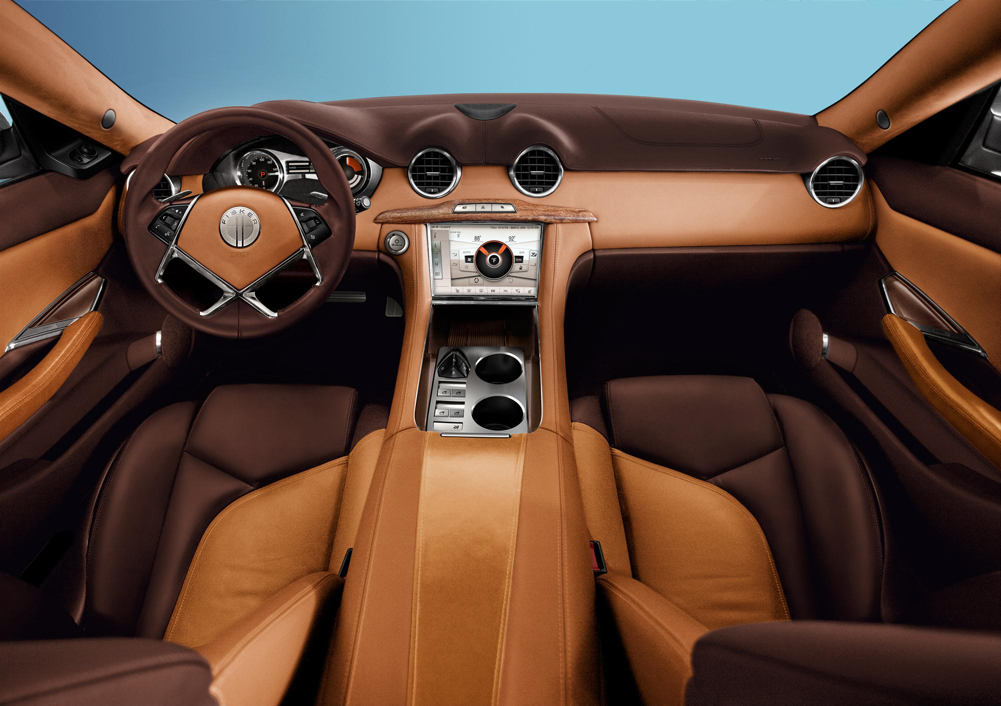 No Bull With Fisker Karma's Low Carbon, Sustainable Leather