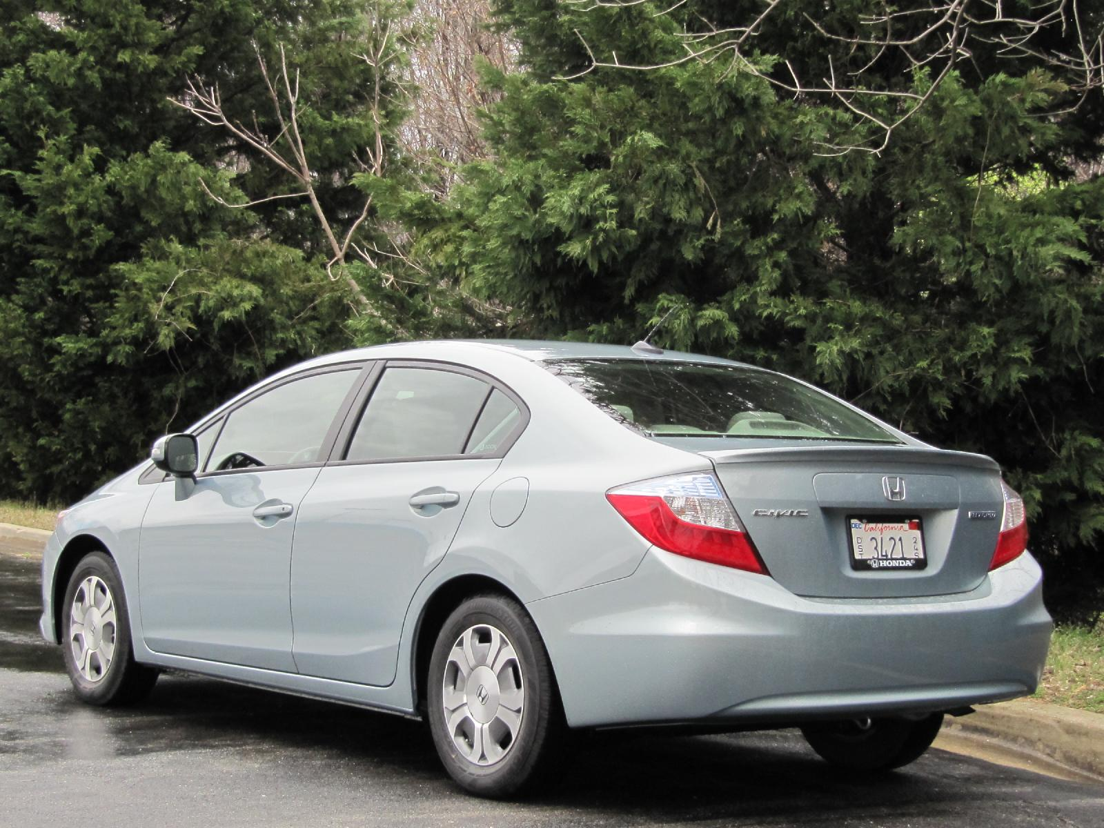 2012 Honda Civic Hybrid Green Car Reports Best Car To Buy 2012 Nominee