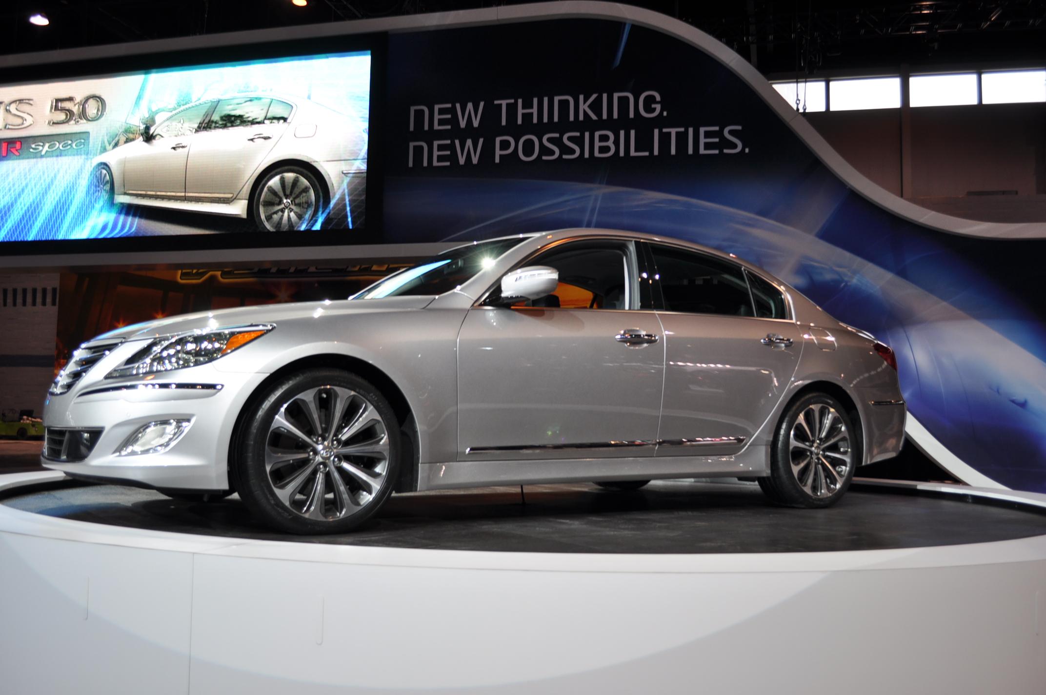 2012 Hyundai Genesis R Spec Sedan Live Photos 2011