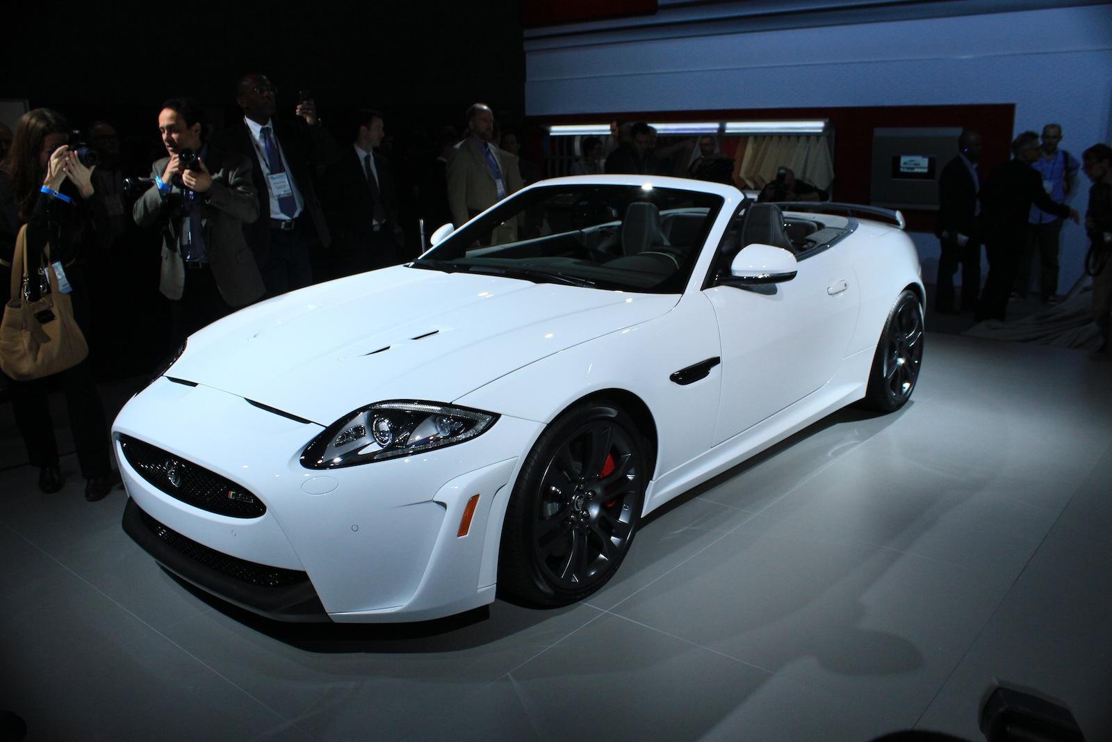 2012 Jaguar XKR-S Convertible Live Photos: 2011 L.A. Auto Show