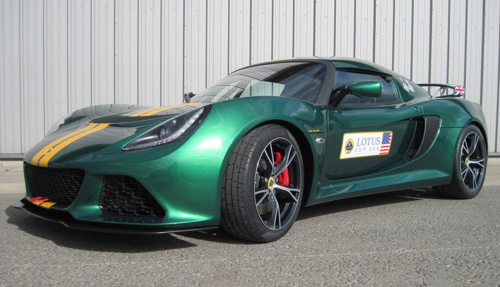 Track A Car: Lotus Confirms Exige V6 Cup Track Car For U.S
