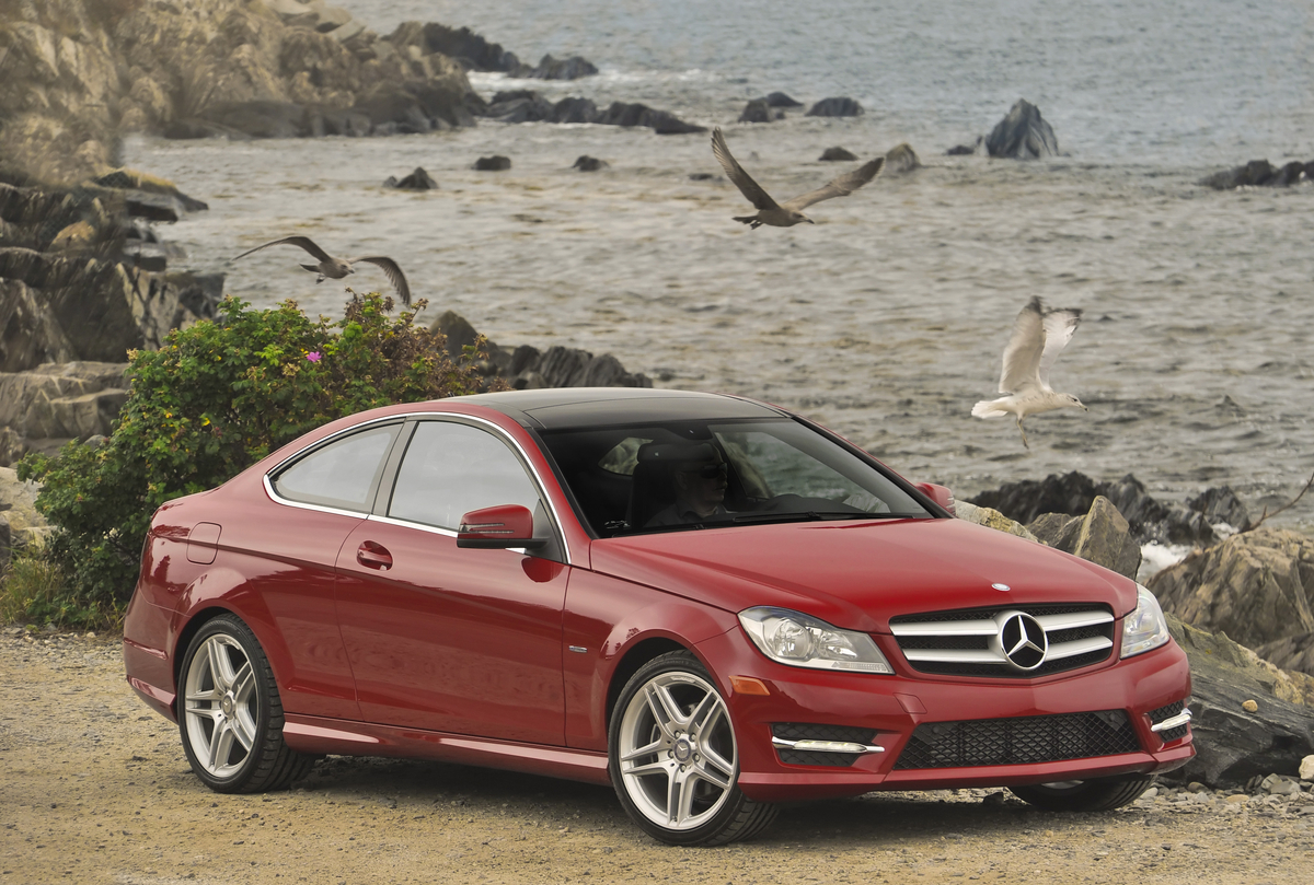 adrenaline junkies mercedes wants to loan you a 2012 c class coupe. Black Bedroom Furniture Sets. Home Design Ideas