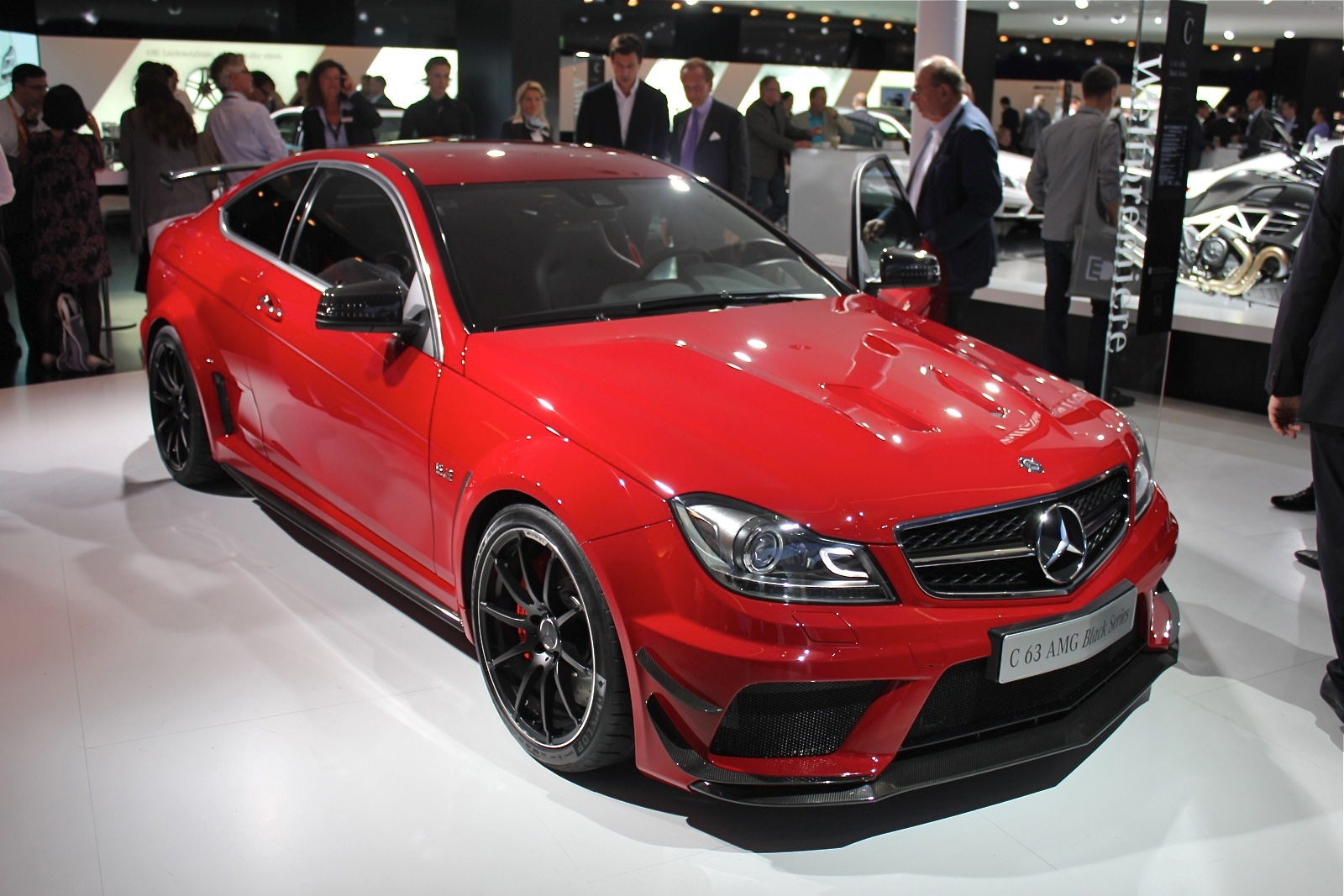 2012 c63 amg coupe black series with aero package video - 2012 mercedes c63 amg coupe ...