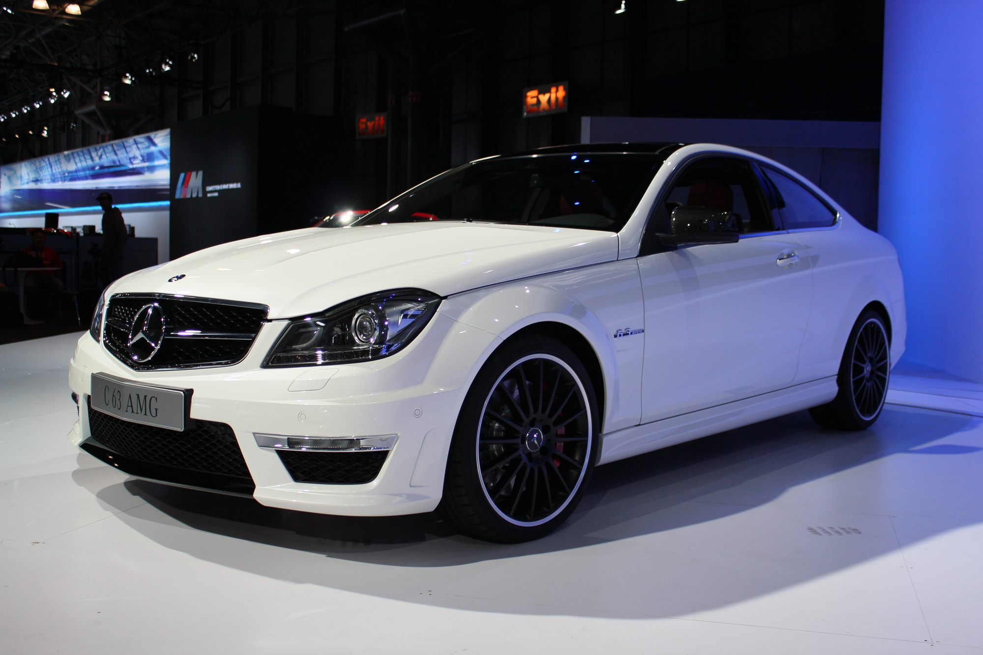2012 mercedes benz c63 amg coupe 2011 new york auto show. Black Bedroom Furniture Sets. Home Design Ideas