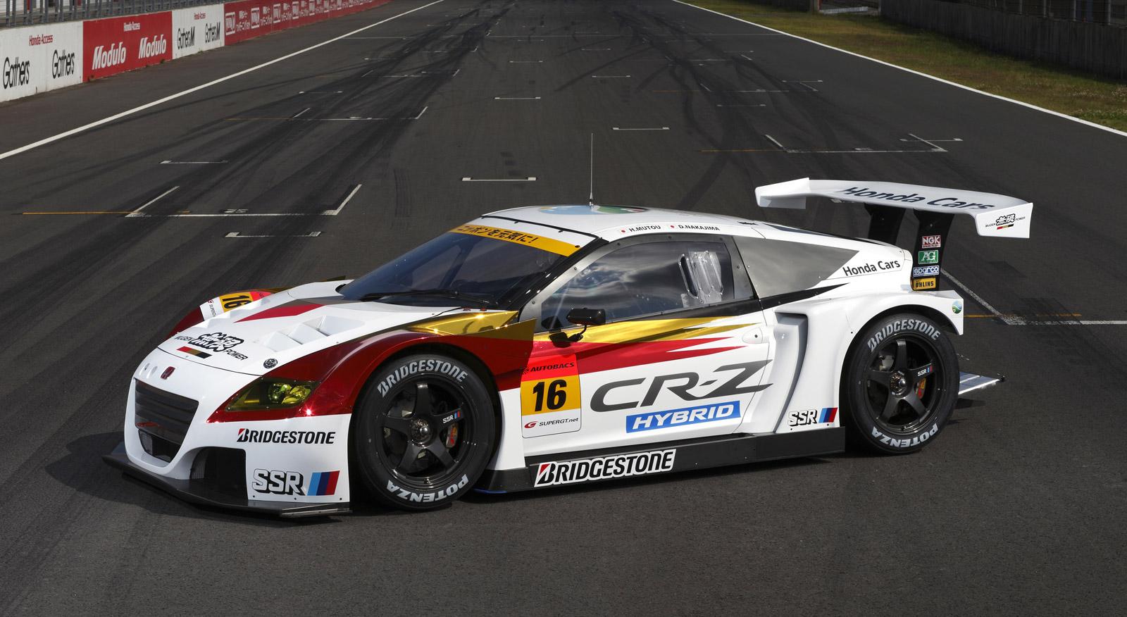 Honda To Race Cr Z Hybrid In Japan S Super Gt Series