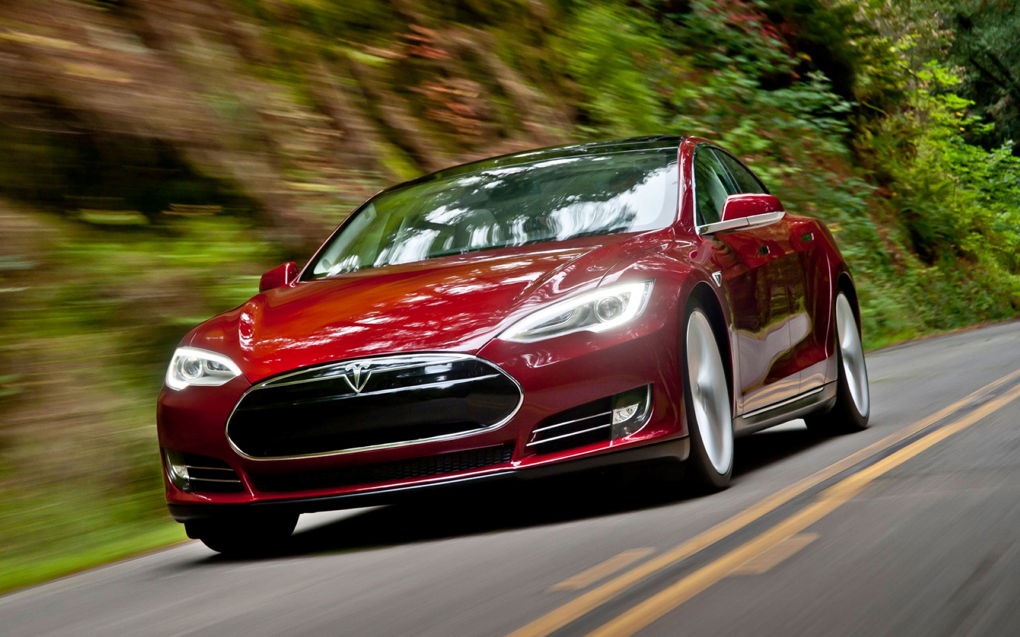 Cars That Start With S >> 2012 Tesla Model S Electric Car Deliveries To Start Today