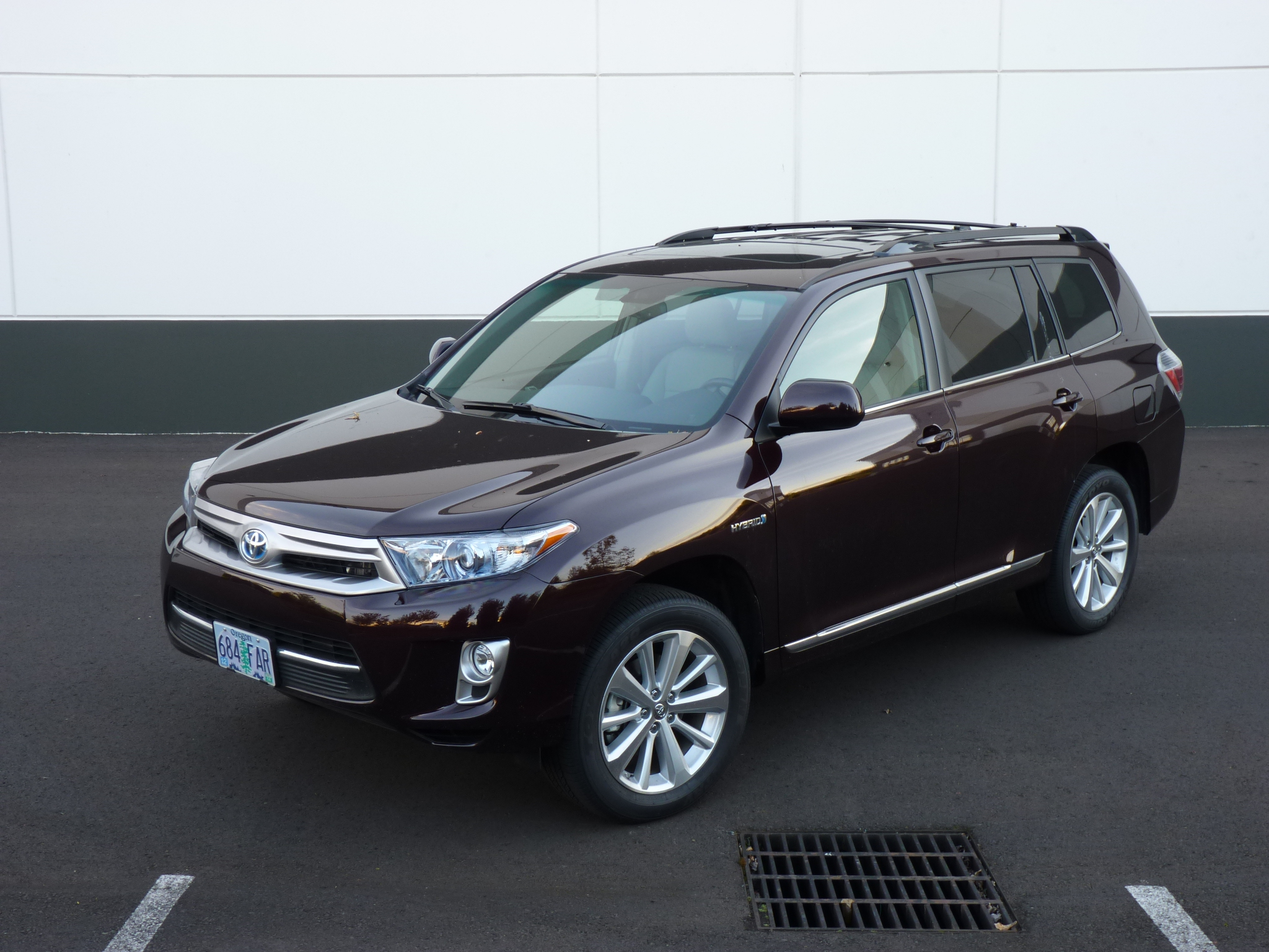 2012 Toyota Highlander Hybrid Quick Drive Highest Mpg