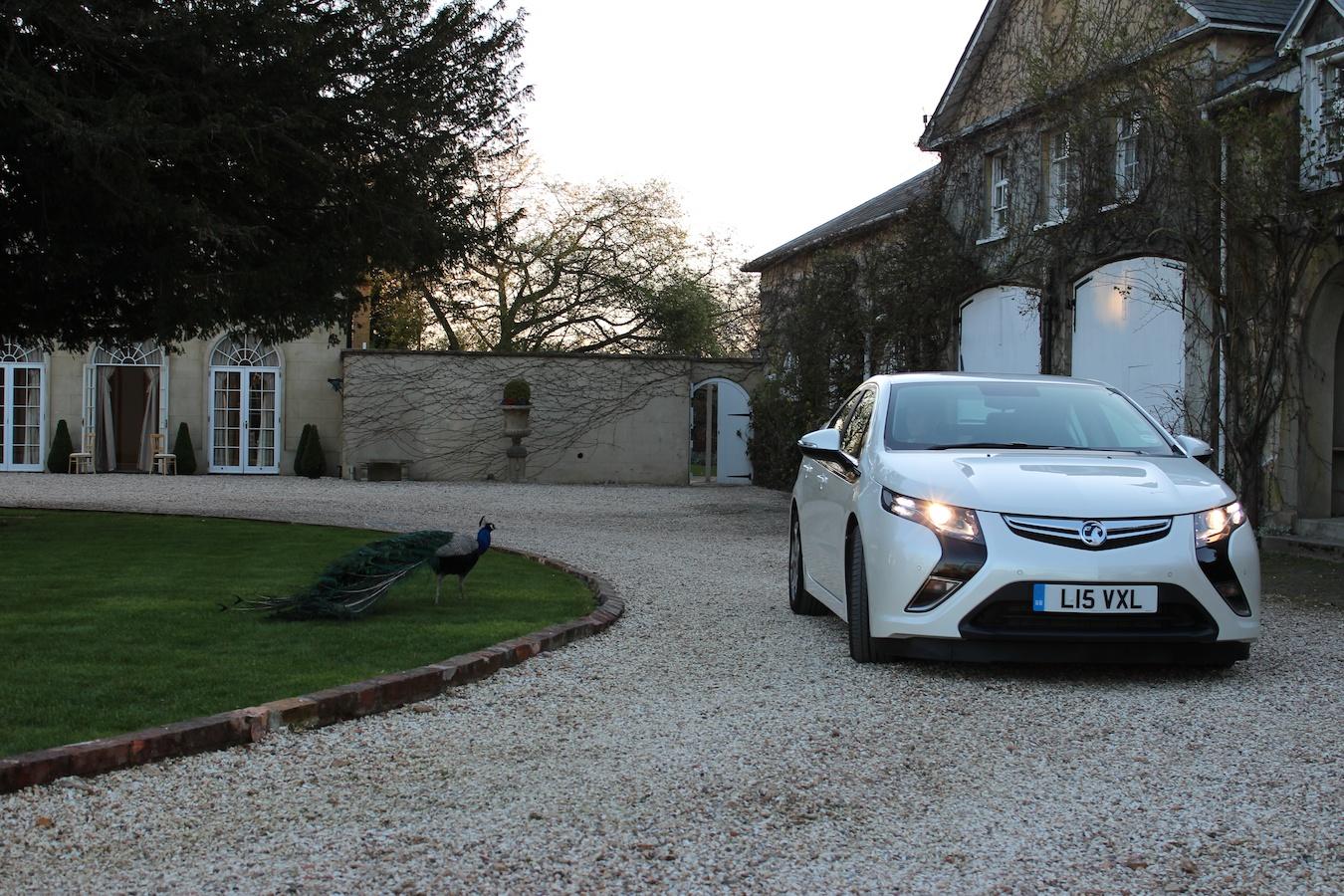 2012 Chevrolet Volt Vauxhall Ampera Drives From U K To France