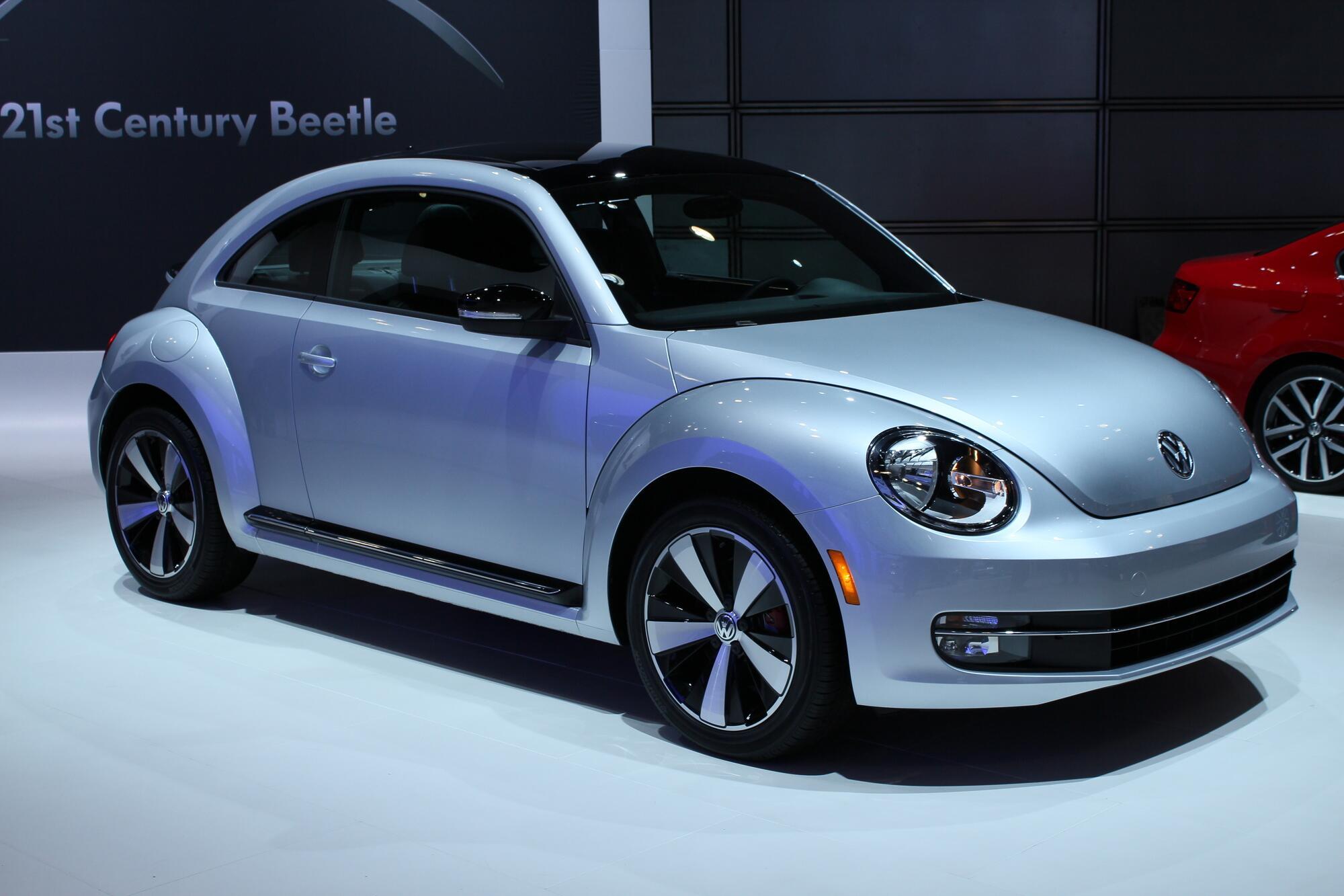Volkswagen Beetle New York Auto Show Live Photos - Volkswagen new york
