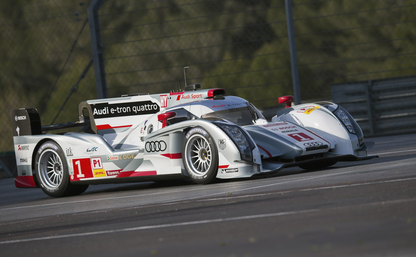 Audi Starts Tests Of Long-Tail R18 e-tron quattro Ahead Of Le Mans
