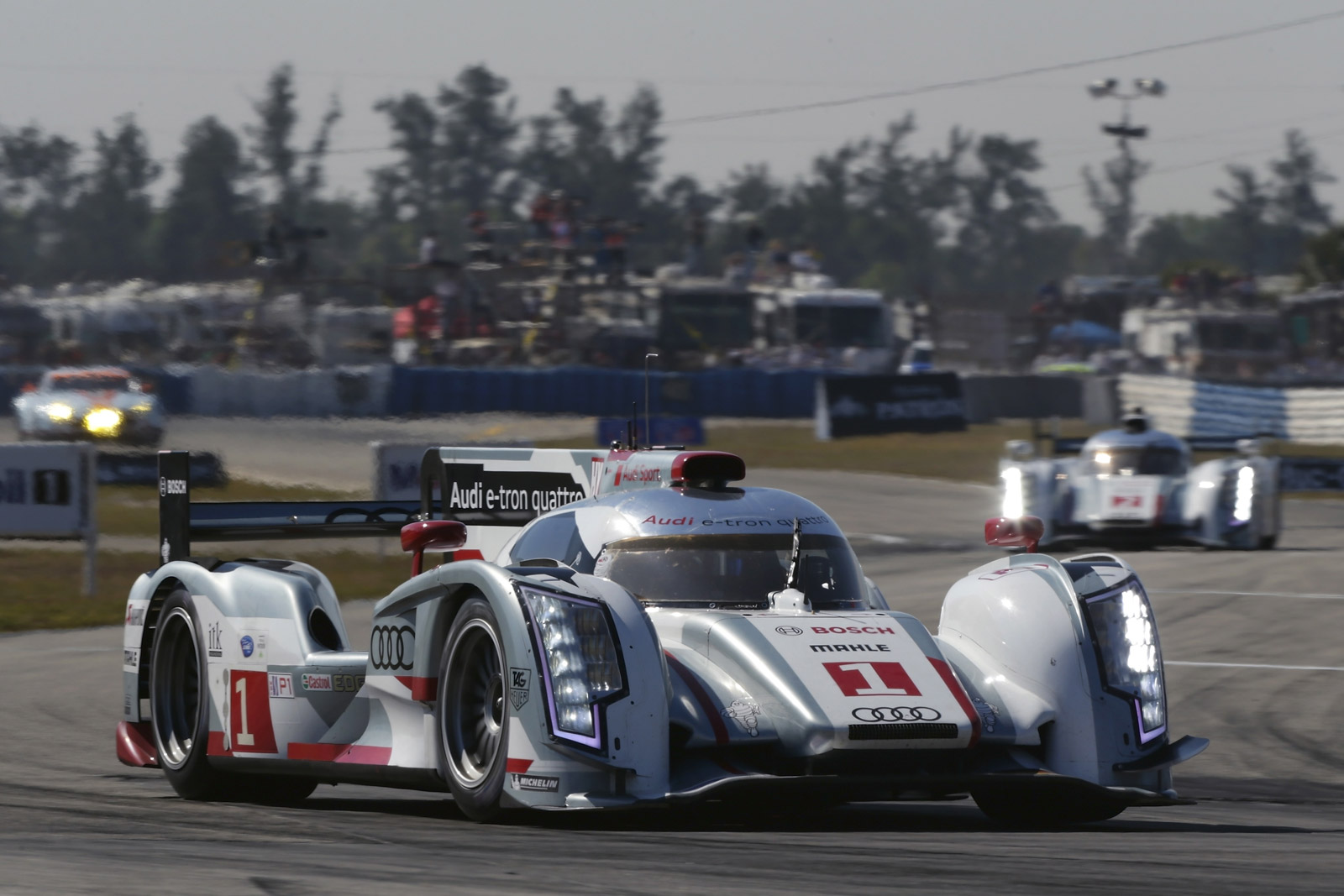 2013 audi r18 e tron quattro ready to defend le mans title. Black Bedroom Furniture Sets. Home Design Ideas