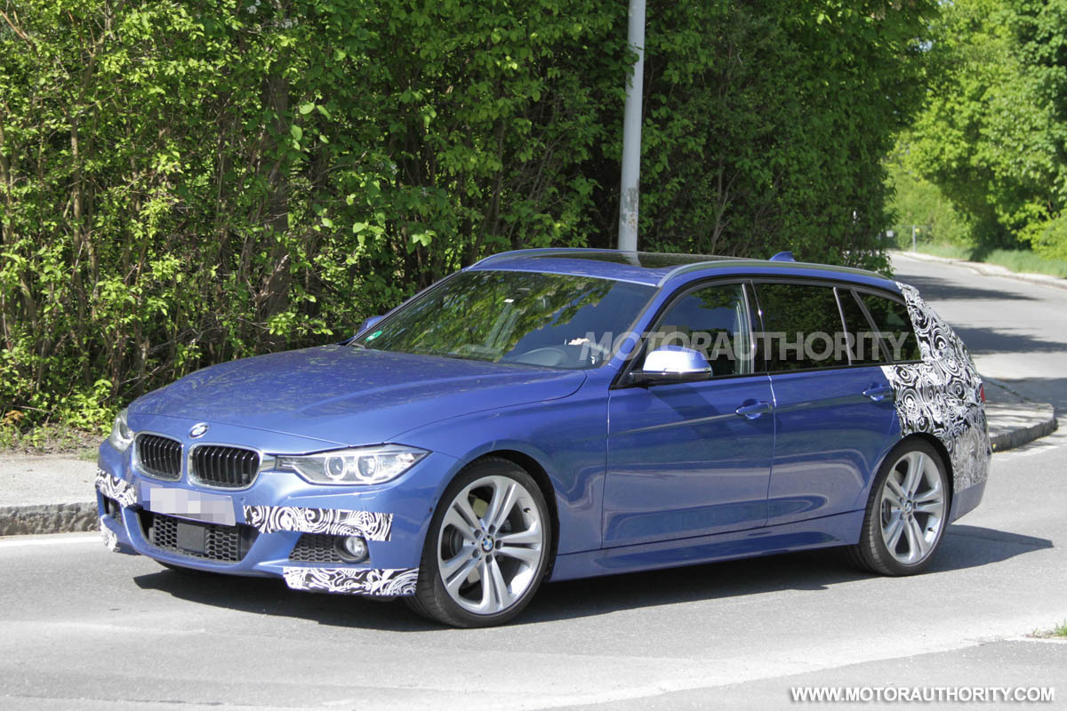 2013 bmw 3 series touring with m sport package spy shots. Black Bedroom Furniture Sets. Home Design Ideas