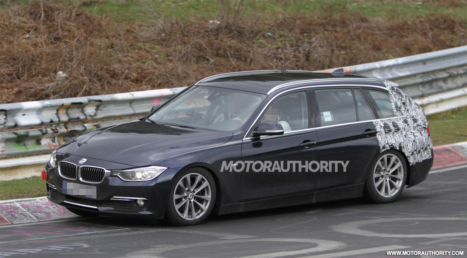 2013 BMW 3 Series Touring Spy Shots