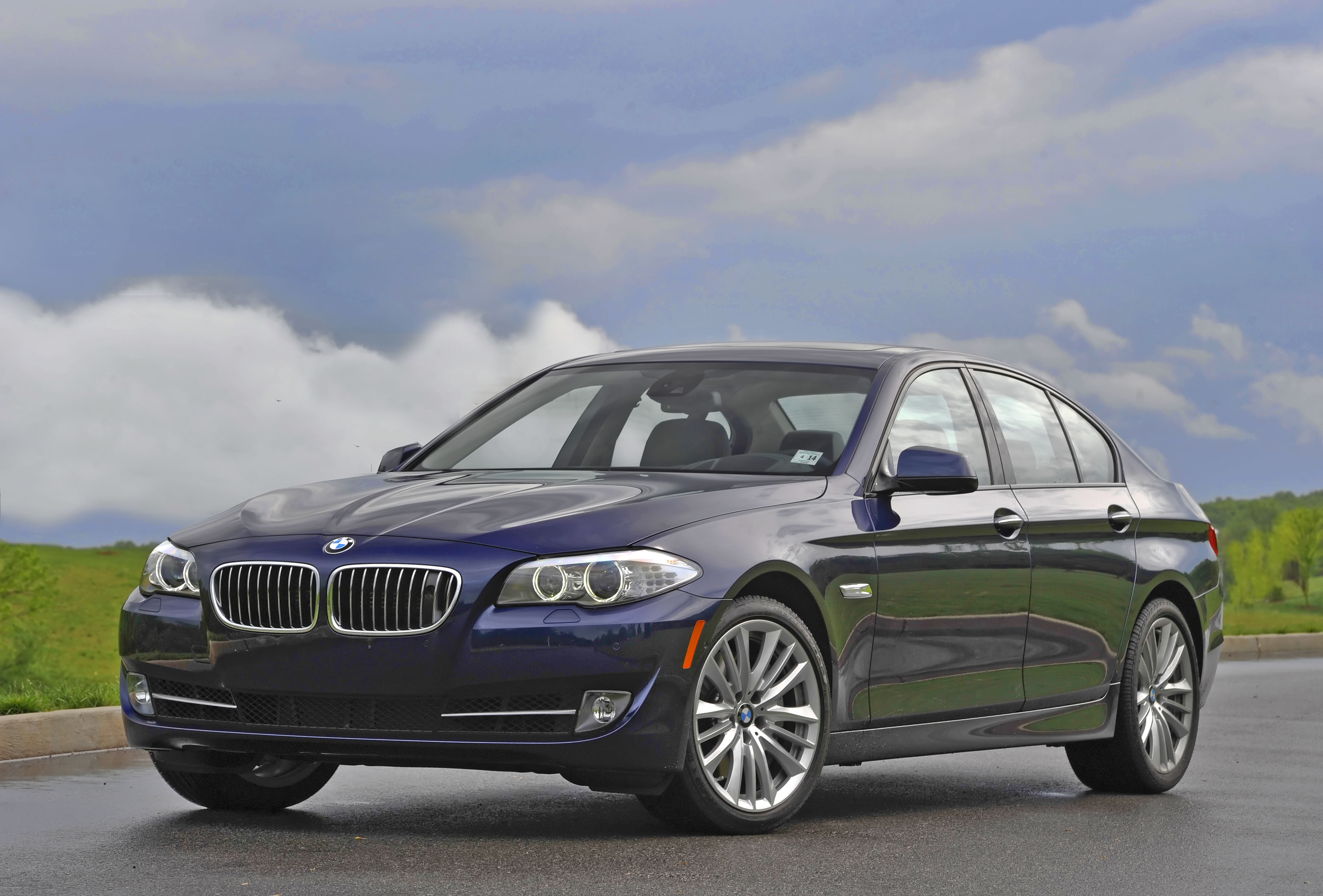2013 Bmw 5 Series Review Ratings Specs Prices And Photos The Car Connection