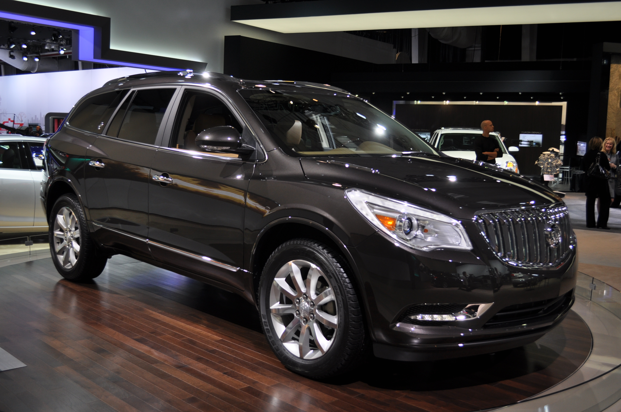 auto suv buick serving at used leather plymouth enclave detail group park